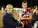 Consegna Coppa a Burgalassi (Capitano Atletico Lucca)